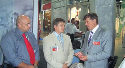 Встреча с министром. 2007 год